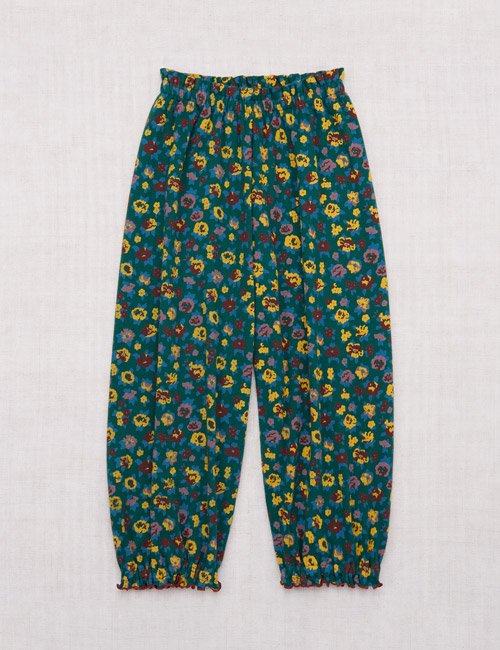 [MISHAANDPUFF]Balloon Pant_ Laurel Brimfield Print