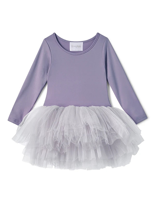 [I Love Plum]  B.F.F. Tutu Dress _ Betty Purple[4Y, 6Y, 8Y]