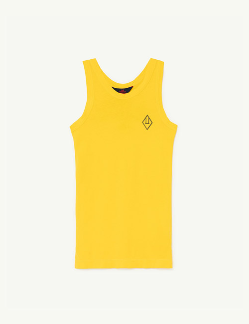 [T.A.O]GAZEL KIDS DRESS Yellow Logo [3Y]