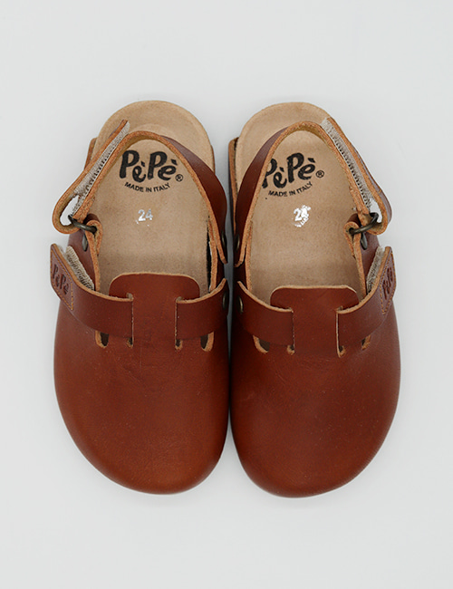 [PEPE SHOES]1026 KAVA BROWN[24,25,26,27,28,29,30,31,32,33,34,35]