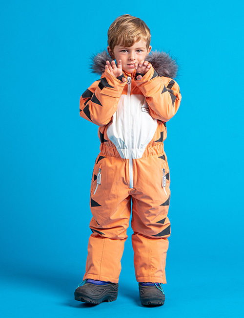 [DINOSKI]Pounce - Tiger Themed Ski Suit [2-3Y,6-7Y]