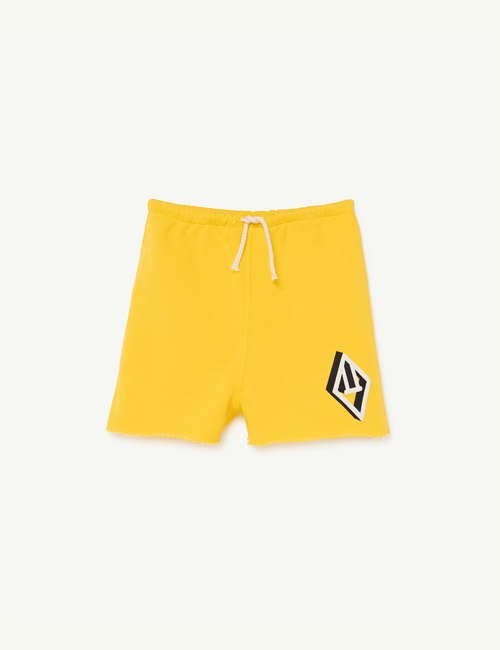[T.A.O] HEDGEHOG KIDS+ TROUSERS_Yellow Logo [3Y, 4Y, 6Y, 8Y, 10Y,12Y]