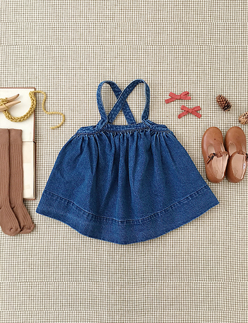[SOOR PLOOM]Eloise Pinafore _ Denim
