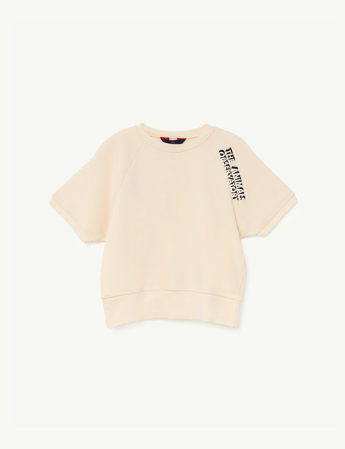 [T.A.O] SQUAB KIDS T-SHIRT_White The Animals[3Y]