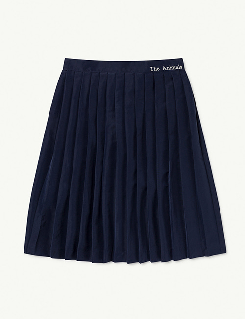 [T.A.O]  CAT KIDS SKIRT _ Navy The Animals