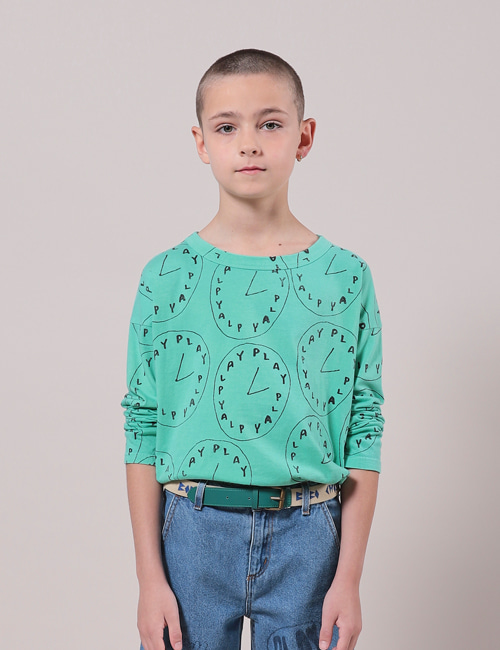 [BOBO CHOSES] Playtime All Over Long Sleeve T-Shirt[10-11y]