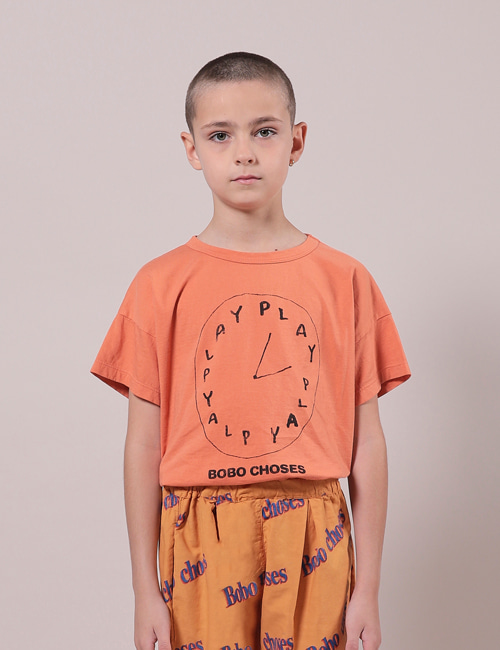 [BOBO CHOSES] Playtime Short Sleeve T-Shirt[6-7y, 8-9y, 10-11y]