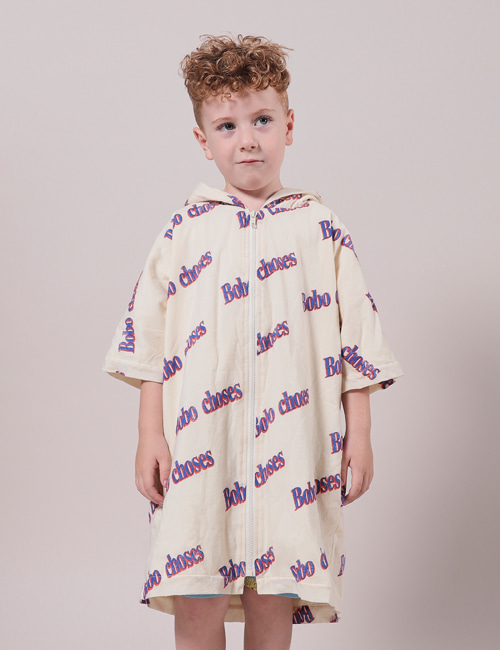 [BOBO CHOSES] Bobo Retro All Over Bathrobe[2-3y, 10-11y]