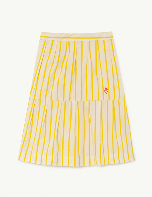 [T.A.O]  TURKEY KIDS SKIRT _ White Stripes