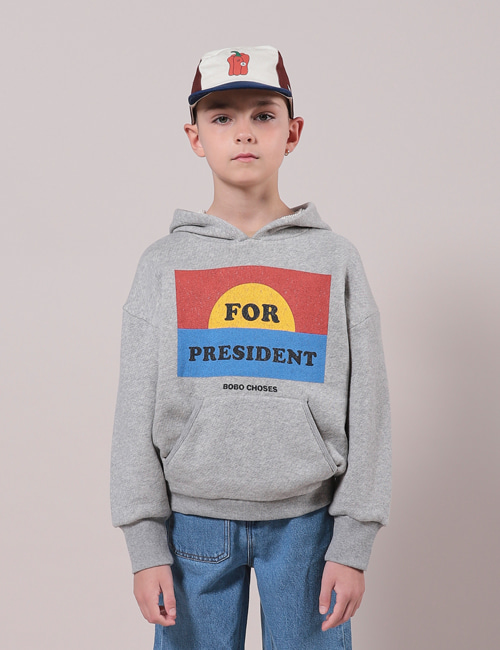 [BOBO CHOSES] For President Hoodie [8-9y]