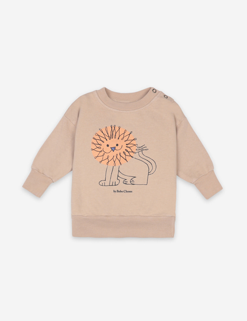 [BOBO CHOSES] Pet A Lion Sweatshirt[12-18m, 24-36m]