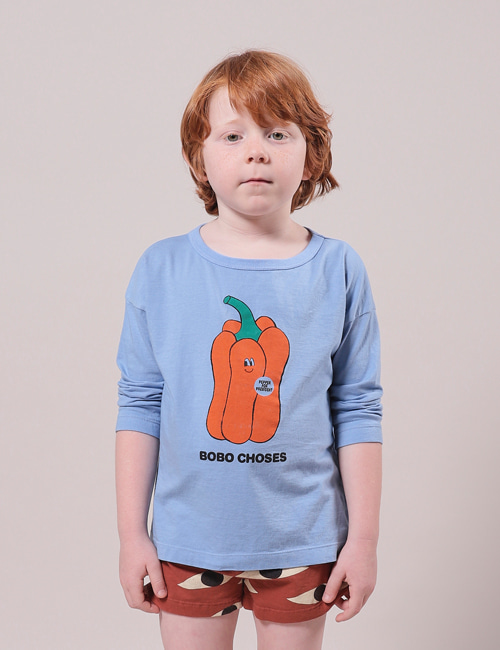 [BOBO CHOSES] Vote for Pepper Long Sleeve T-Shirt[8-9y, 10-11y]