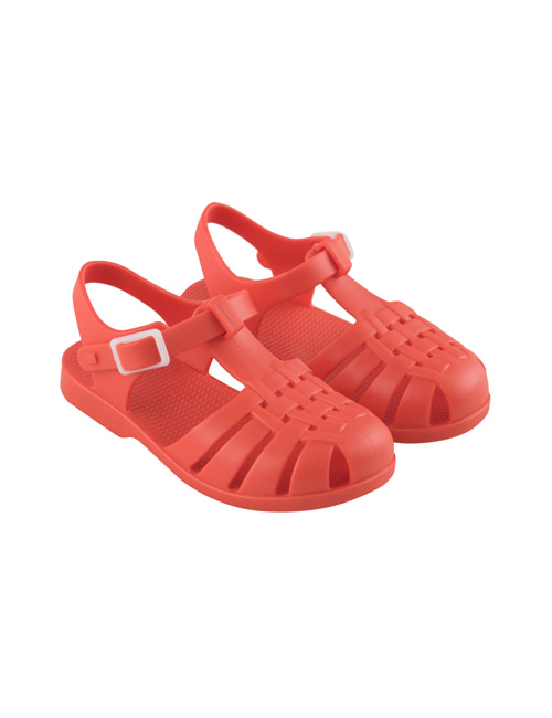 [TINY COTTONS]  JELLY SANDALS _ red[24, 26, 27, 28, 29, 30]