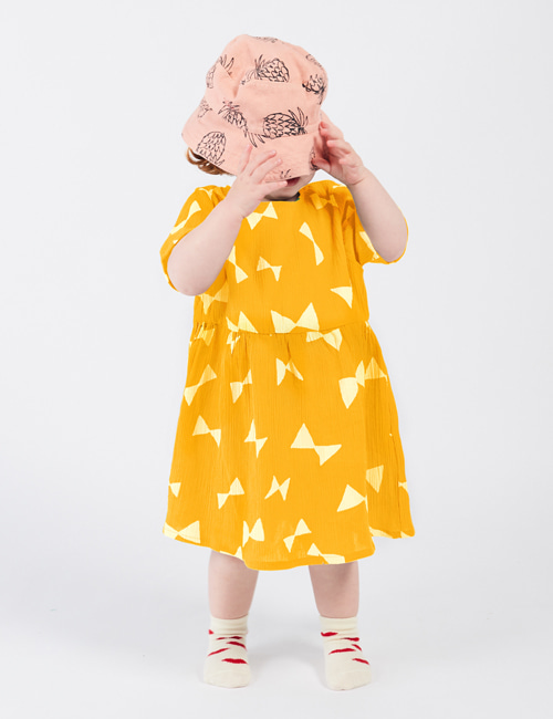 [BOBO CHOSES] All Over Bow Dress [12-18m, 18-24m]