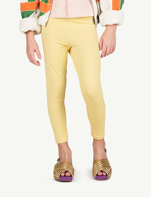 [T.A.O]ALLIGATOR KIDS LEGGINS _ YELLOW [8Y]