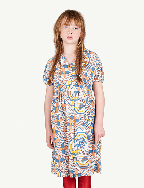 [T.A.O]DOLPHIN KIDS DRESS _ MULTI [3Y]