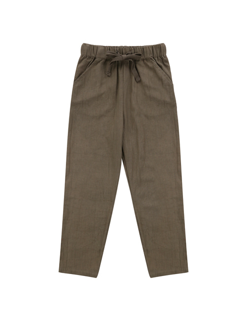 [LITTLE COTTON CLOTHES]Tenby Trousers Cinder [4-5y,5-6y]