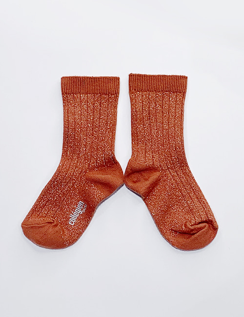 [COLLEGIEN]Glitter ankle socks _ Pain Dopice[28/31, 32/35]