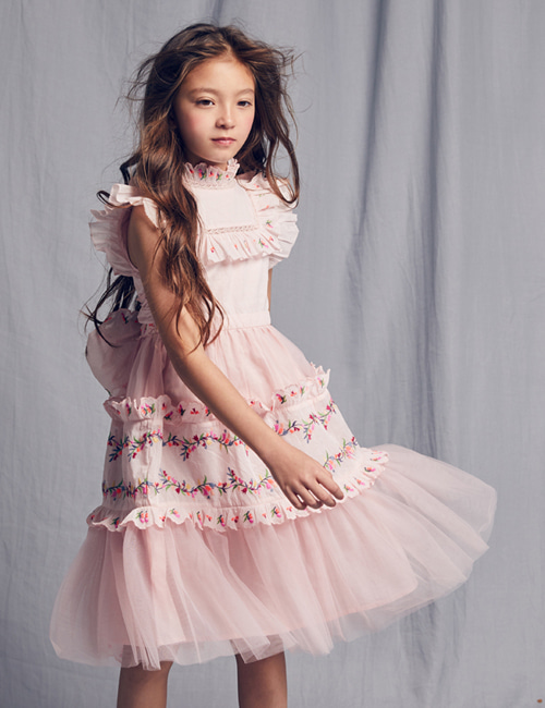 [NELLY STELLA]  Julianna Dress _ Peaches[3Y]