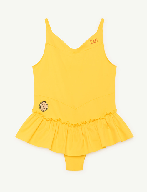 [T.A.O] CLOWNFISH KIDS SWIMSUIT _ YELLOW TAO [4Y]