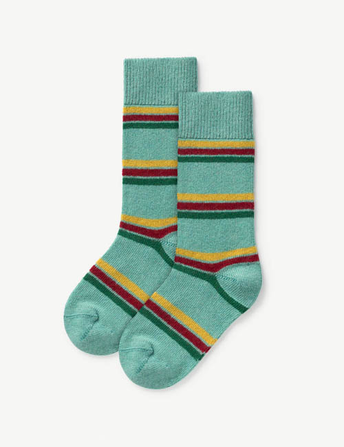 [T.A.O] SNAIL KIDS SOCKS _ GREEN [27/30]