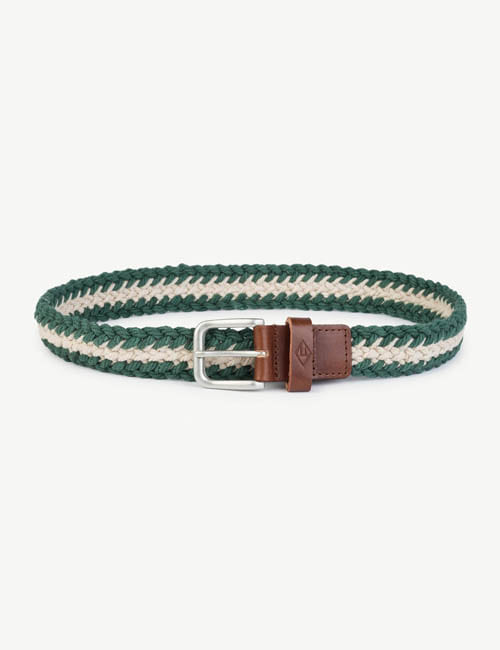 [T.A.O] LOVEBIRD KIDS BELT _ WHITEGREEN  [S]