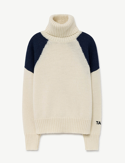 [T.A.O]CONDOR KIDS SWEATER_NAVY [4y ]