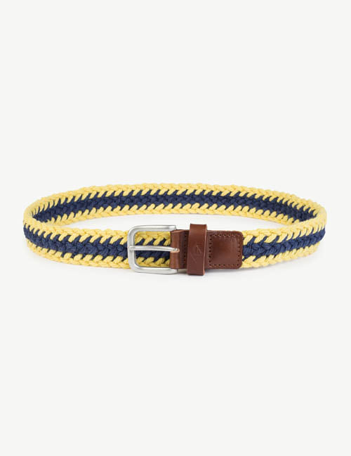 [T.A.O] LOVEBIRD KIDS BELT _ BLUEYELLOW [S]