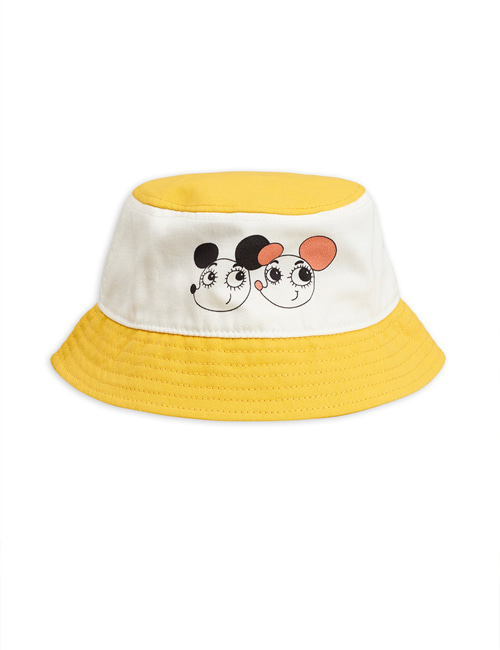 [MINI RODINI] Ritzrats bucket hat _ Yellow[48/50]
