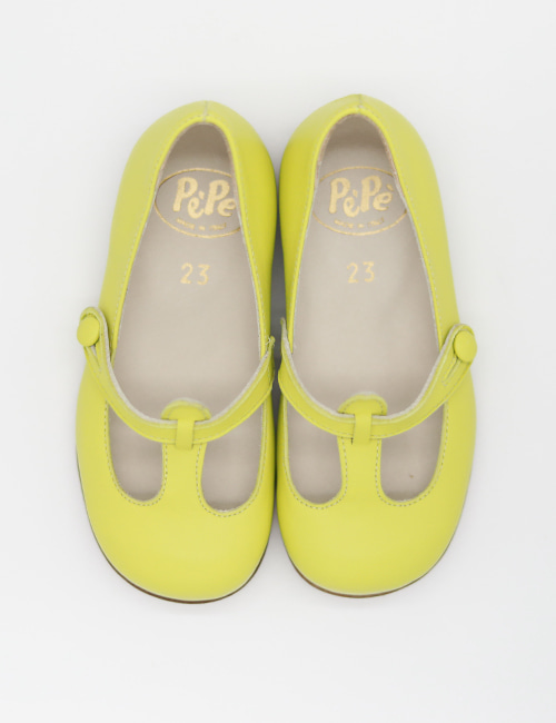 [PEPE SHOES]1195 _ Neon Yell  [24,25,26,27,28,30]