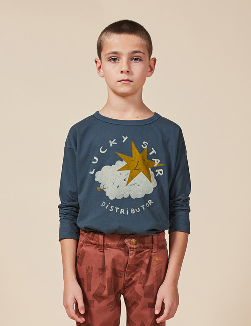 [BOBO CHOSES] Lucky Star Long Sleeve T-shirt[2-3y, 8-9y, 10-11y]