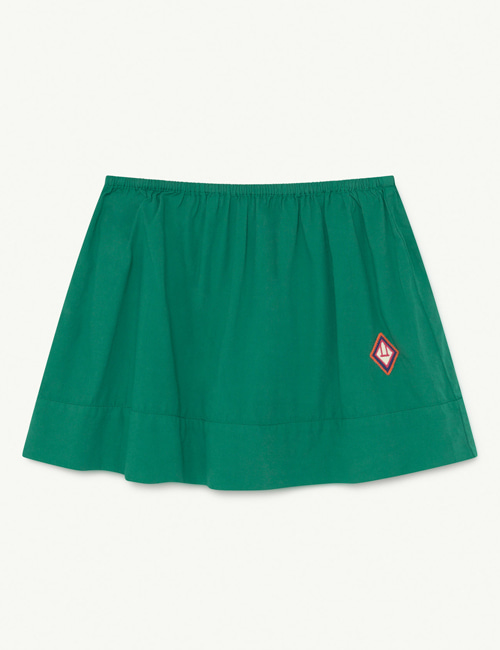 [T.A.O] KIWI KIDS SKIRT  GREEN LOGO [4Y, 10Y]