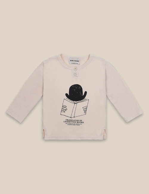 [BOBO CHOSES] Translator Buttonned T-Shirt[12-18m, 18-24m]