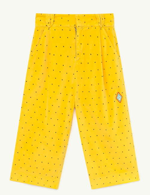 [T.A.O] EMU KIDS TROUSERS  YELLOW DOTS[4Y,6Y,8Y, 10Y]
