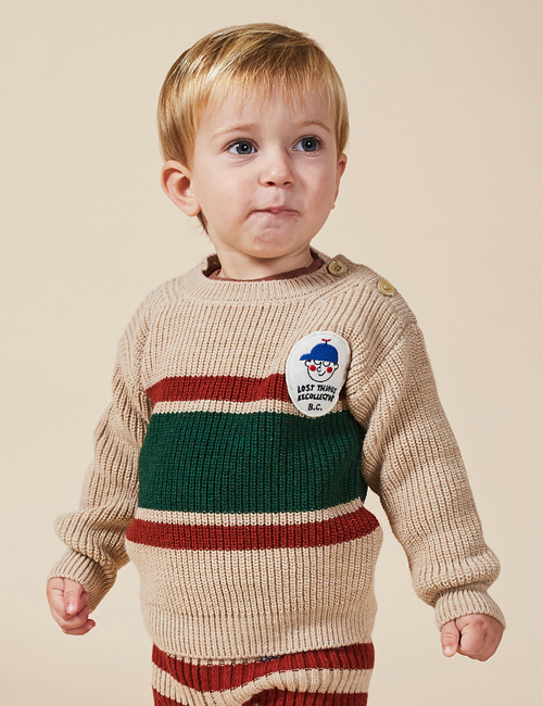 [BOBO CHOSES] Boy Patch Jumper[24-36m]