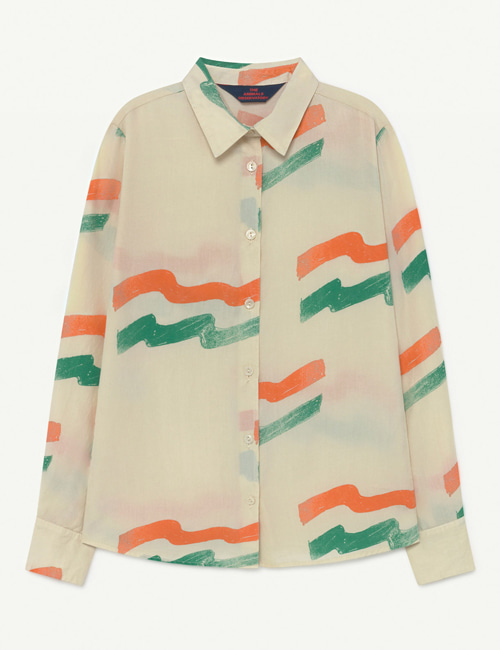[T.A.O] MARMOT KIDS SHIRT  White Flag [4Y,6Y,8Y]