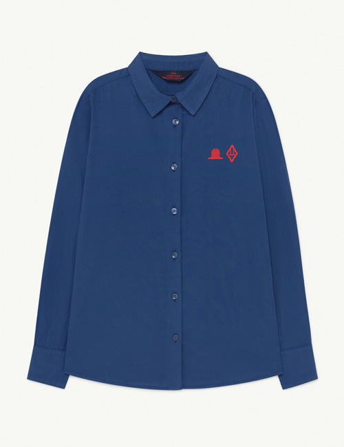 [T.A.O] MARMOT KIDS SHIRT  Blue Hat [3Y, 4Y]