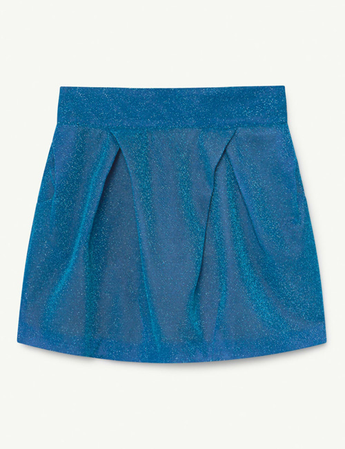 [T.A.O] SHINY SALAMANDER KIDS SKIRT Blue HAT [4Y, 6Y, 8Y]