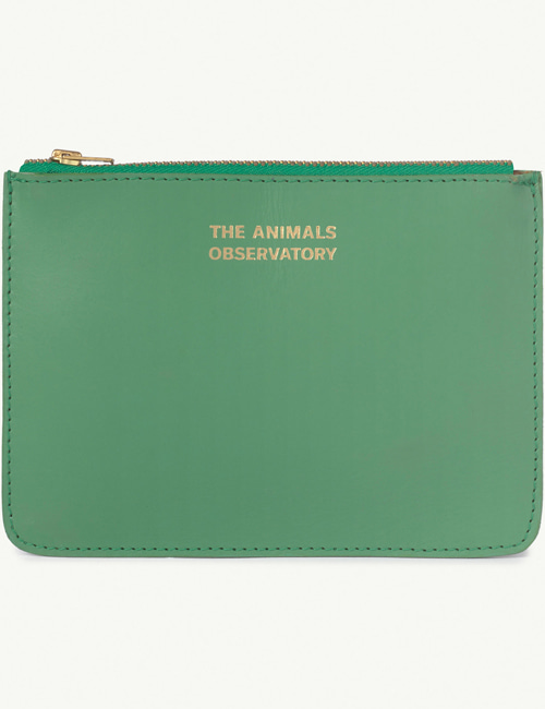 [T.A.O] ONESIZE PURSE GREEN THE ANIMALS