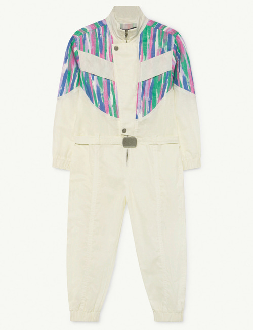 [T.A.O] GRASSHOPPER KIDS JUMPSUIT White Colors [4Y, 6Y, 8Y]