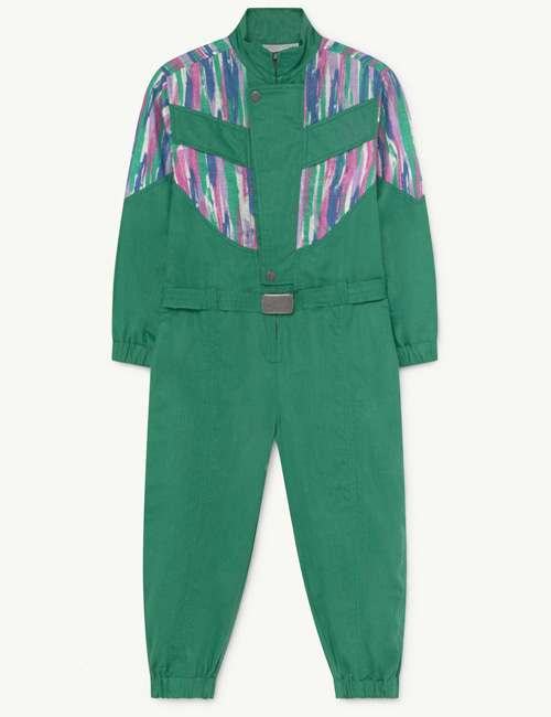 [T.A.O] GRASSHOPPER KIDS JUMPSUIT Green Colors [4Y,8Y]