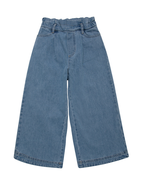 [THE NEW SOCIETY] HOSIE PANTS  _ DENIM LIGHT BLUE [6Y]