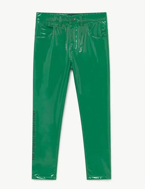 [T.A.O] MOSQUITO KIDS TROUSERS GREEN THE ANIMALS [3Y, 4Y, 6Y]
