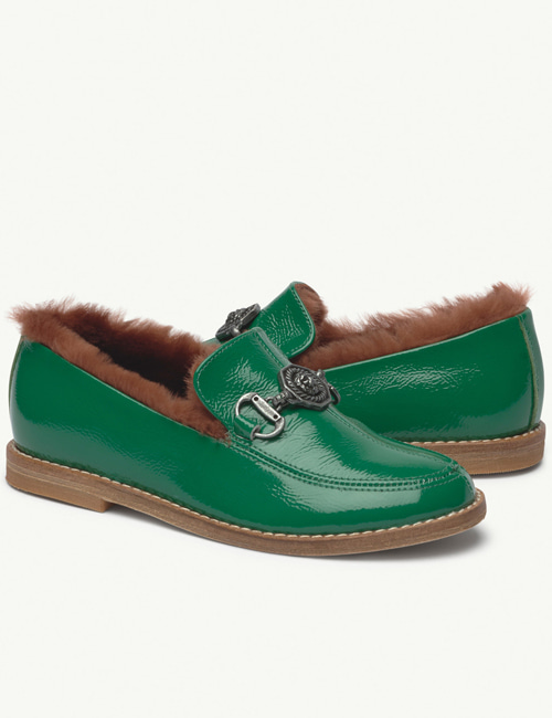 [T.A.O] DONKEY KIDS SHOES GREEN[27, 28, 30]