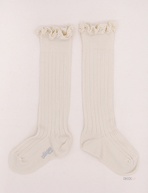 [COLLEGIEN]Knee high socks _ Doux Agneaux (No.037) [28/31]