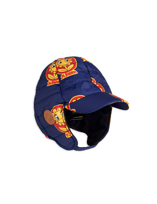 [MINI RODINI]Insulator flower cap _ Navy [48/50]