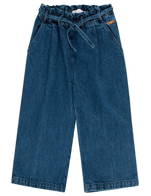 [TINY COTTONS] DENIM WIDE PANT _ denim [2Y, 10Y, 12Y]