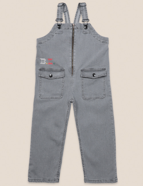 [BOBO CHOSES] Denim Dungaree [6-7y, 8-9y]