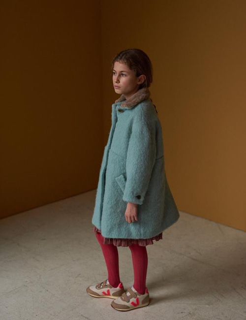 [CARAMEL] SHELDUCK COAT _ MINT [12y]
