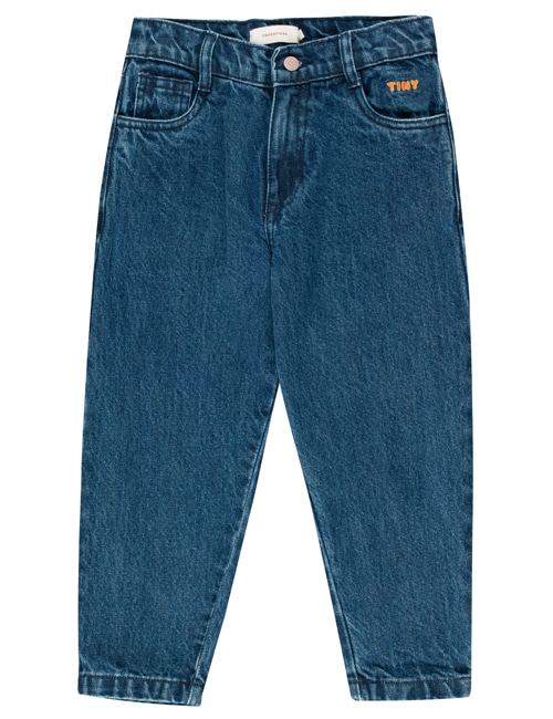 [TINY COTTONS] BAGGY DENIM _ denim [10Y]
